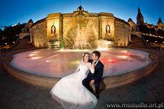 wedding photoshoot  - Szczecin by night :)