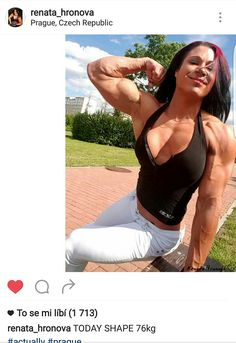 See 7671 photos from 78034 visitors about prague castle, charles bridge, and historic sites. Love Fitness, Big Muscles, Muscle Girls, Most Beautiful Cities, Gym Girls, Physique, Bodybuilding, Sexy Women, Sporty