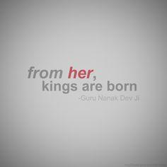 Quote by Shri Guru Nanak Dev Ji.
