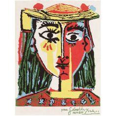 Woman with hat, Pablo Picasso Medium: linocut,paper Pablo Picasso, Kunst Picasso, Art Picasso, Picasso Paintings, Picasso Prints, Degas Little Dancer, Spanish Artists, Art Inspo, Printmaking