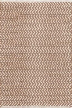 Herringbone Stone Cotton Rug