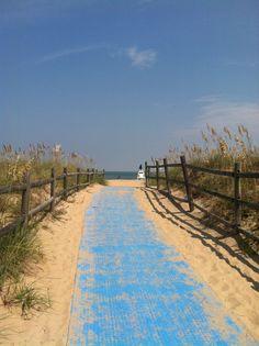 Sandbridge Beach, Virginia Beach, VA. Courtesy of The Paint Crew Virginia Beach