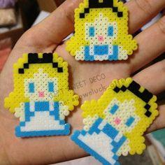 Alice perler beads by gift_sweetdeco