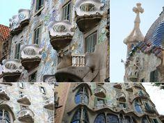 Casa Batlló - Highlights of Barcelona – The Girls Who Wander The Girl Who, Wander, Highlights, Barcelona, Spain, Girls, Little Girls, Daughters, Highlight