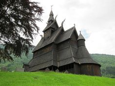 Norse Church by Roger Bunting Scandinavian Architecture, Portfolio, Traditional House, Places To Travel, Norway, Vikings, Around The Worlds, House Styles, Building