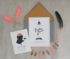 RESERVED Teepee Party Invitations. $94.00, via Etsy.