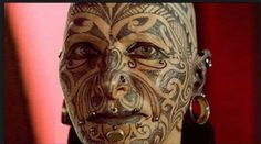 Check Out 20 Awesome Face Tattoo Designs. A tattoo on your face will make it a point of attraction and people will look at it. We are going to introduce our readers with some other good examples of Awesome Face Tattoo Designs. Bad Face Tattoos, Face Tattoos For Women, Facial Tattoos, Body Art Tattoos, Tatoos, Crazy Tattoos, Badass Tattoos, Maori Tattoos, Maori Face Tattoo
