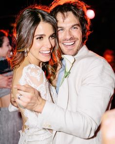 """Ian Somerhalder - 26/04/17 - To the most amazing human in the world. Thank you for 2 incredible years of marriage. Today, two years ago to the minute, we said """"I do"""" and I couldn't be happier or more grateful to you for this life. Thank you for being my best friend the hardest-working, kindest, most patient and most talented woman I've ever known. To you my love, I say that I know we will have so many of these we can't even count them. Partly because I'll be so old... I love you"""
