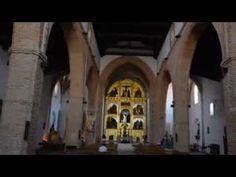 Iglesia de San Juan Bautista y Santo Domingo Silos, (Chillón) en Agosto con la Virgen