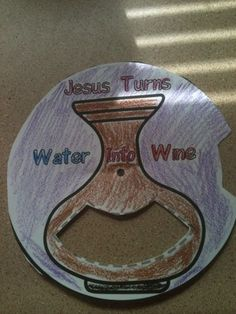 Jesus Turns Water into wine Craft