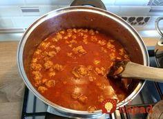 Toto je absolútna bomba medzi polievkami, druhé už ani nechystajte! Gulášová z mletého mäsa – rýchla, sýta a fakt úžasná! Curry, Ethnic Recipes, Food, Curries, Essen, Meals, Yemek, Eten