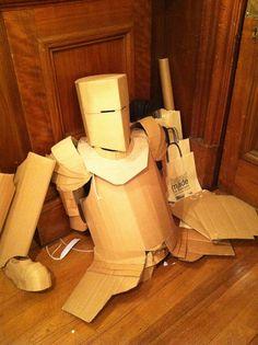 Cardboard Armor by Sam Hill Design by [re]design, via Flickr