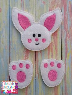 Bunny Set Over Sized: The Little Stitch Shop