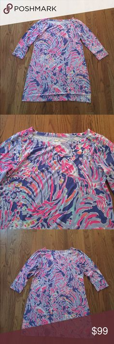❗️SALE❗️$138 Lilly pulitzer dress sz xl New with tags $138 Lilly pulitzer Sophie dress in shrimply chic sz xl // brand new, perfect condition, never worn before. Lilly Pulitzer Dresses