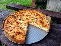 Slaný koláč s cuketou - obrázok 7 20 Min, Hawaiian Pizza, Quiche, Zucchini, Yummy Food, Delicious Meals, Hamburger, Recipies, Food And Drink