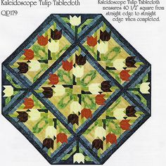 Kaleidoscope-Tulip-quilt-pattern-by-Pam-Bono-Designs