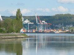Le Port de Rouen à Grand-Quevilly