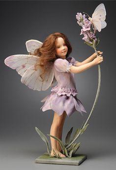 R. John Wright Presents: Lavender Fairy from 'A Flower Fairy Alphabet' Collection - R. John Wright, Bennington, VT