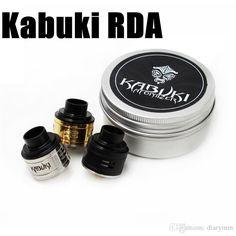 New Vaporizer Kabuki Rda Atomizers With Wide Bore Drip Tip 24mm Peek Insulators Fit 510 Mods Dhl Free Silver Atomizer Small Perfume Atomizer From Diarymm, $7.64| Dhgate.Com