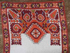 """Cover. Bulgarian traditional embroidery. """"Shevica"""""""