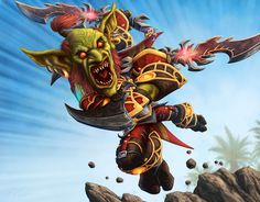 World of Warcraft: Goblin Rogue