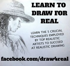 Drawing is a skill like any other skill that can be learned. The good news is that drawing skills are relatively easy to master. There are only 5 techniques that are needed to succeed at realistic drawing. You pay...$6.00 US, (approx. ,subject to change) I'll send you a link to my instructional drawing videos (Total time nearly 90mins, in HD 720p) You watch the videos  online as many times as you like  and do the exercises . You gain knowledge and become a great drawing artist. Everyone is…