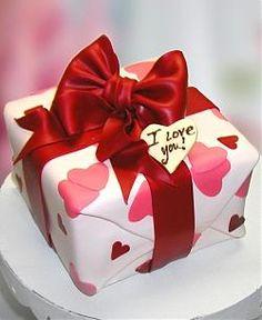 torta speciale per il giorno di San Valentino