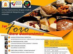 @Regrann from #margaritagastronomica -  1era. Foro IberoGastronomico los invitamos a disfrutar de una tarde diferente con Musica en vivo. Stand de artesanias y comida  Fecha: 6 de Octubre  Horario de 3:00 a 9:00 pm Organiza #instituto_iberoamericano Lugar: Sede del Instituto Iberoamericano  Informacion: 0426-5961250/ 0414-7876805/ 0412-0208876/ 0414-7907083 #Regrann