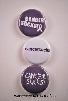 Should say.... F*ck you cancer! Your not going to get the best of us.