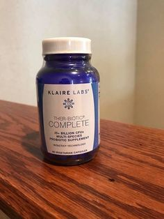 Dr. Sarah recommends everyone take a good quality Probiotic.  Klaire Labs Ther-Biotic Complete is available at Pace Family Chiropractic