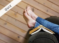 Take our quiz to see what book you should read next.
