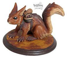 Sculpey Medium Blend: How to Sculpt a Fantasy Gatherer Squirrel