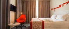 Holiday Inn Vilnius (Šeimyniškių g. 1) This 4-star hotel in Vilnius is situated near the commercial district and historic Old Town. The Holiday Inn Vilnius offers free high-speed internet and free access to the mini gym. #bestworldhotels #hotel #hotels #travel #lt #vilnius