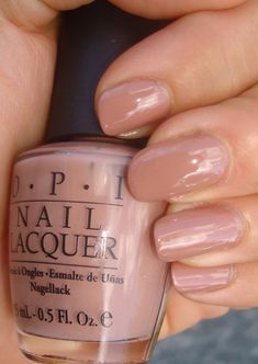 OPI Barefoot in Barcelona, just got my vacation pedi in this color!