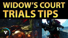 Planet Destiny: Widow's Court Trials Tips, Flawless Gameplay (with team mic)