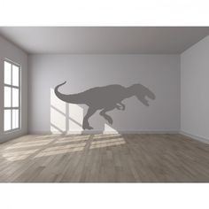 T Rex Print Wall Sticker Dinosaur Wall Art
