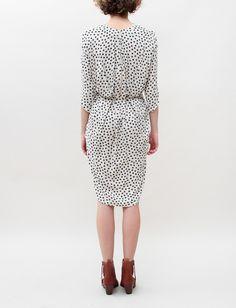 // Hope Ginger Dress- Black Dots