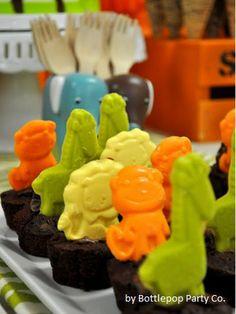 Mini Gourmet Chocolate Jungle animals aprox. by XocolatlChocolate