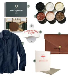 fathers day gift guide + present ideas via @CamilleStyles
