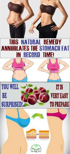 THIS NATURAL REMEDY ANNIHILATES THE STOMACH FAT IN RECORD TIME! YOU WILL BE SURPRISED!… IT IS VERY EASY TO PREPARE.