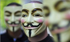 New documents leaked by Edward Snowden and obtained by NBC News suggest that the UK's spy agency, GCHQ, launched a DDoS attack on the hacker collectives Anonymous and LulzSec. Funny P, Funny Memes, Hilarious, Funny Stuff, Funny Shit, Random Stuff, Edward Snowden, Guy Fawkes, Jeremy Hammond