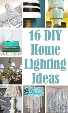 DIY Home Sweet Home: DIY Lighting