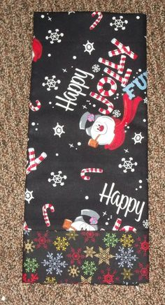 Frosty the Snowman Christmas Standard/Queen Cotton Pillow Case #2 #handmade #Christmas