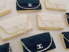 Chanel Purse Cookies by L sweets