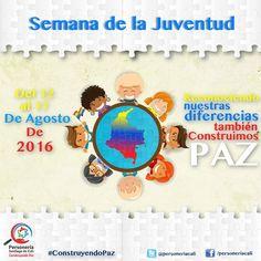DÍA INTERNACIONAL DE LA JUVENTUD   El Día Internacional de la Juventud brinda la oportunidad de celebrar el poder de la creatividad y el impulso innovador que los jóvenes aportan a todas las sociedades. El tema de este año El compromiso cívico de los jóvenes pone de relieve la función que desempeñan la participación y la inclusión de los jóvenes en la construcción de la convivencia y el bienestar común.(Unesco)