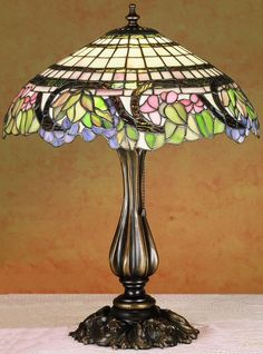 "0-100096>19""""h Handel Grapevine Table Lamp"