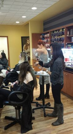 It has been a #Balayage Bonanza since we've gotten back from our NYC @WellaColor Master's class in NYC.