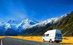 I've been daydreaming of traveling around NZ via camper van