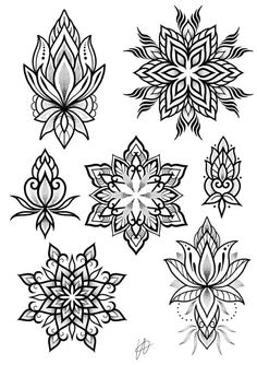 Best tattoo mandala dotwork drawings ideas - tattoo, jewerly, other accessories Mandala Tattoo Mann, Mandala Tattoo Design, Mandala Drawing, Mandala Art, Mini Tattoos, Trendy Tattoos, Body Art Tattoos, Cool Tattoos, Woman Tattoos