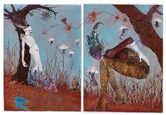 Wangechi Mutu: Art: On Paper
